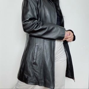 DANIER Leather Coat with DuPont ThermoLite Lining
